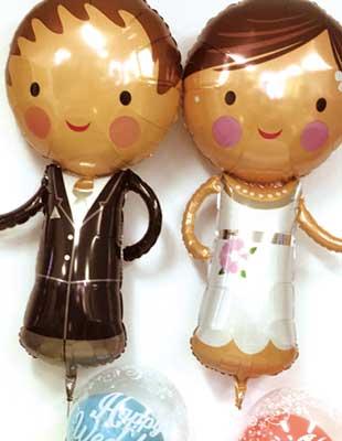 結婚のお祝いにバルーン電報を贈ろうのイメージ